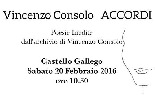 """""""Vincenzo Consolo – ACCORDI"""""""