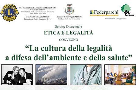 """""""La cultura della legalità a difesa dell'ambiente e della salute"""""""