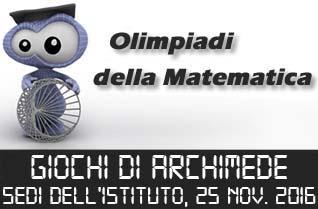 Giochi di Archimede 2015