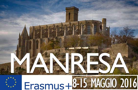 Erasmus+ - Meeting con l'INS Pius Font i Quer a Manresa (Spagna)