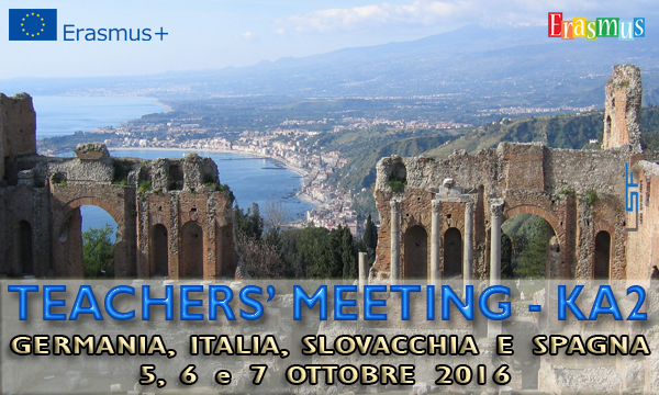 Erasmus+ - Teachers' Meeting