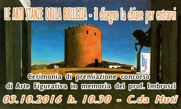 """Cerimonia di premiazione del Concorso di Arti Figurative """"Alfio Imbroscì"""""""