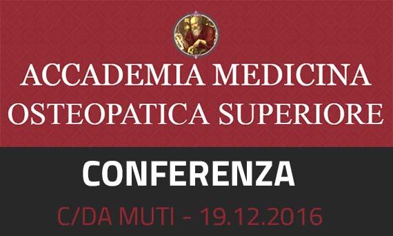 Conferenza dell'A.M.O.S.