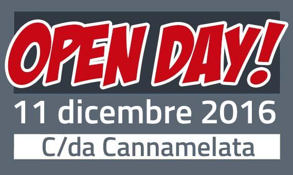 Open Day - Dicembre 2016