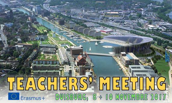 Erasmus+ - Duisburg, Teachers' Meeting