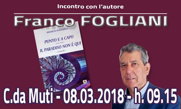 Incontro con l'autore: Franco Fogliani