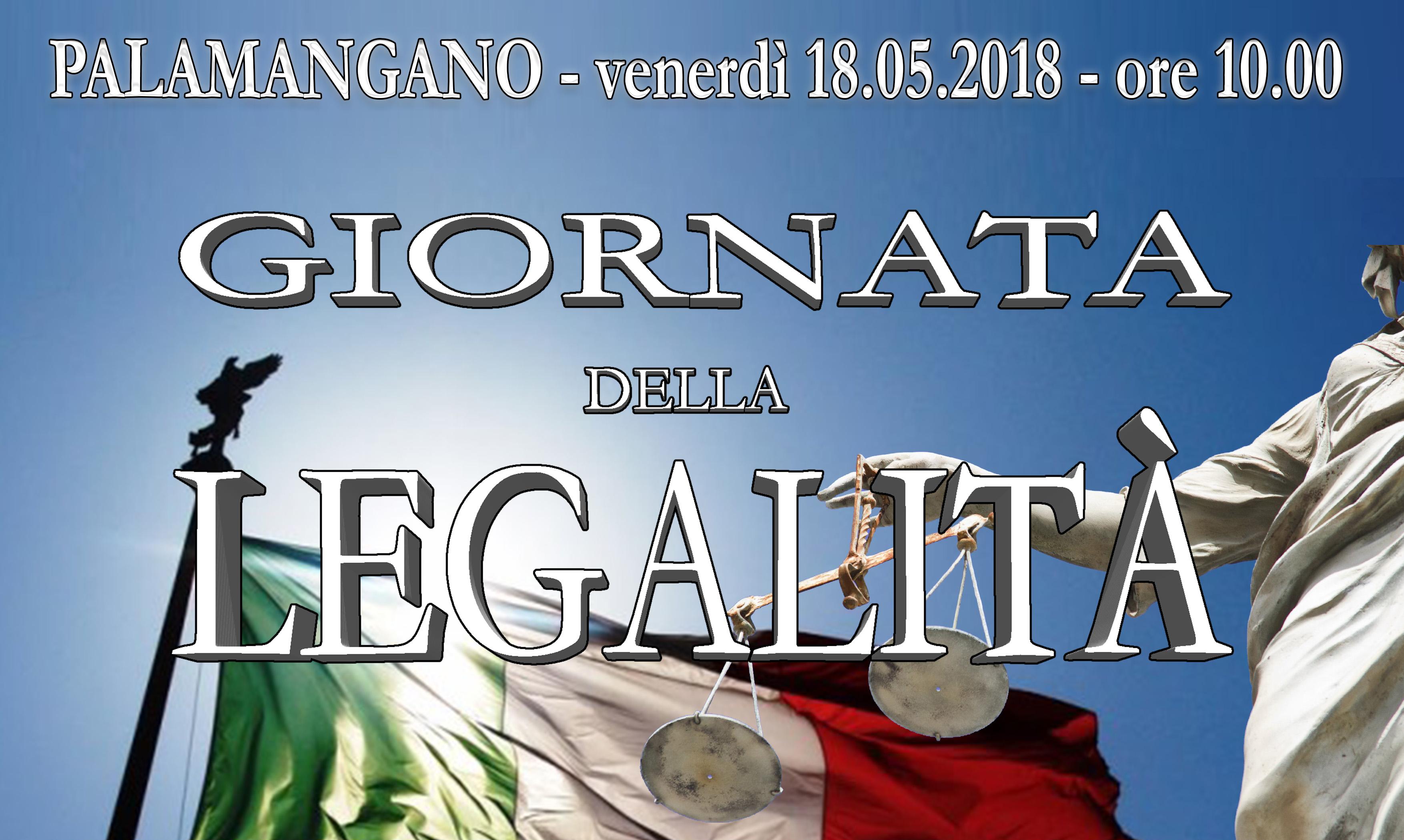 Giornata per la legalità - A.S. 2017/2018