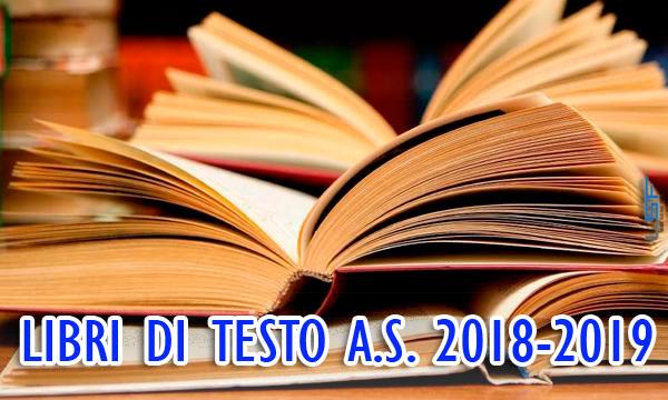 Libri di testo A.S. 2018/2019