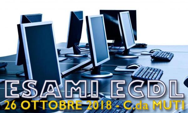 Esami ECDL - sessione di ottobre