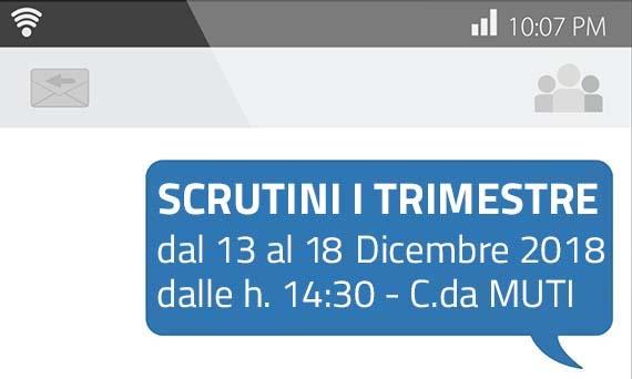 Scrutini I Trimestre