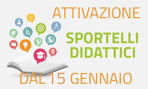Attivazione Sportelli Didattici A.S. 2018/2019